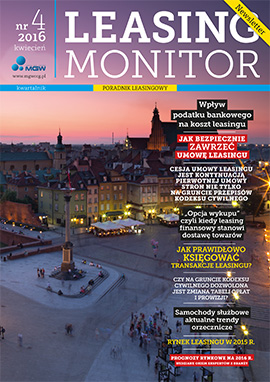 Najnowszy Leasing Monitor