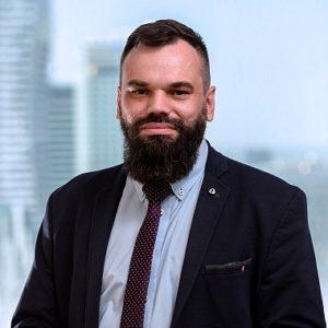 Zdjęcie Tomasza Ryżyńskiego członka zarządu MGW Doradca Restrukturyzacyjny Sp. z o.o.
